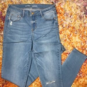 NWT Old Navy Mid Rise Skinny Jeans